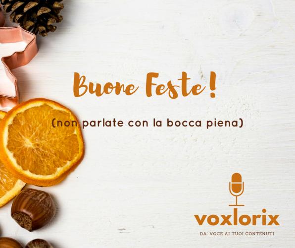 CopyVoicer (Lorenzo Abagnale) - VoxLorix - Buone Feste