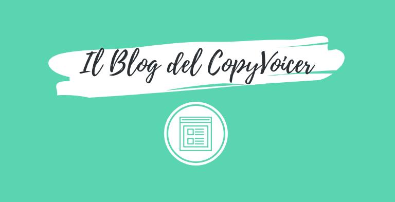CopyVoicer (Lorenzo Abagnale) - Il Blog