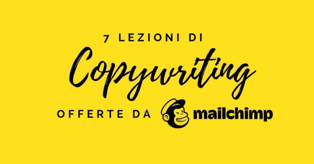 Copywriting per il web: impara da Mailchimp