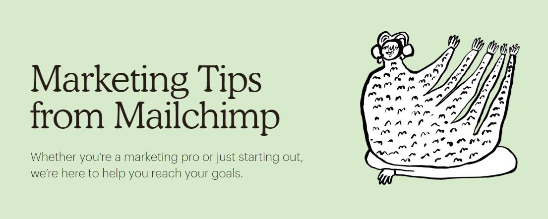 Come tenersi stretti i visitatori su un sito attraverso i contenuti (Mailchimp)