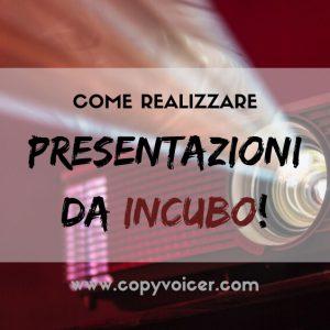Presentazioni efficaci (il CopyVoicer, Lorenzo Abagnale)
