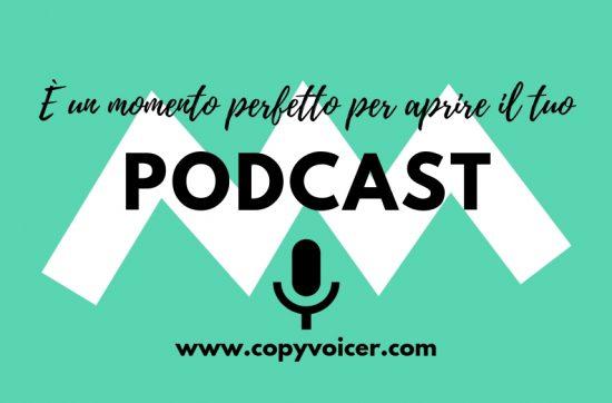 Podcast: è un momento perfetto (CopyVoicer, Lorenzo Abagnale)